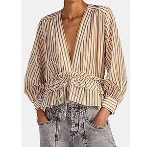 Robert Rodriguez striped Mariel blouse